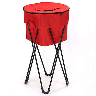Household Essentials® Collapsible Thermal Cooler in Red/Black