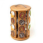 Mind Reader K-Cup® Bamboo Carousel in Brown
