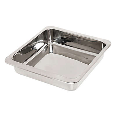 Honey-Can-Do® Stainless Steel 8-Inch Square Cake Pan in Chrome