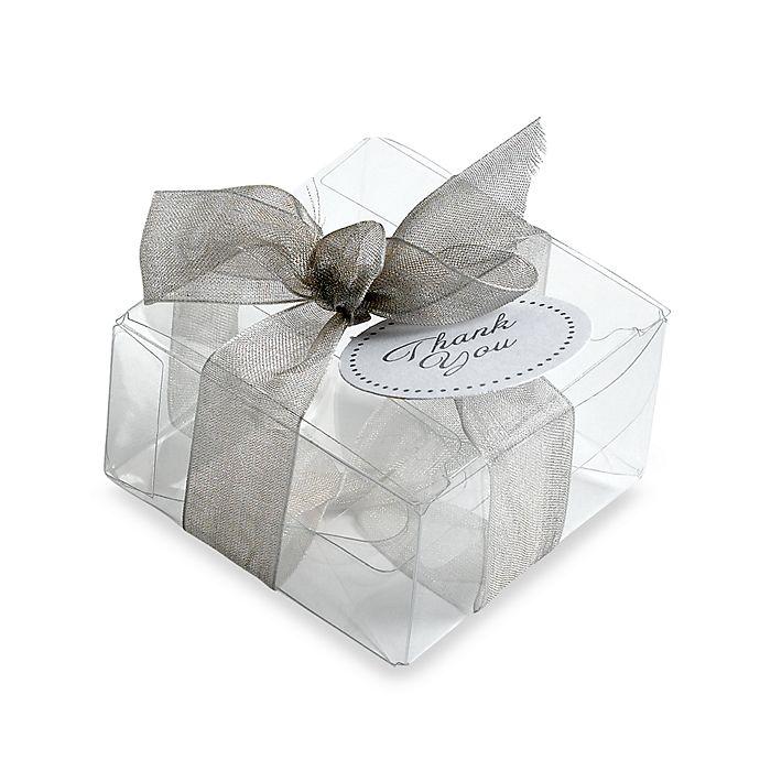 Alternate image 1 for Gartner Studios 50-Count Clear Favor Box