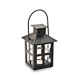 Kate Aspen® Mini Lantern Black Tealight Holder Wedding Favor