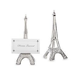 Kate Aspen® Eiffel Tower Place Card Holder Wedding Favor (Set of 4)