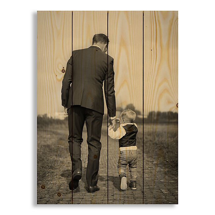 Alternate image 1 for Designs Direct Photo Upload 14-Inch x 20-Inch Pallet Wood Wall Art