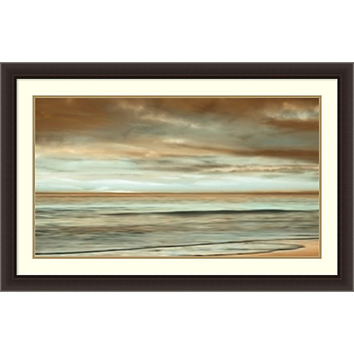 Alternate image 1 for The Surf 44-Inch x 28-Inch Framed Wall Art