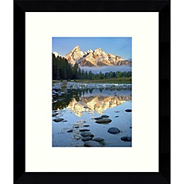 Amanti Art Grand Teton 11-Inch x 9-Inch Framed Wall Art