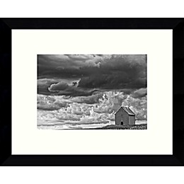 Amanti Art All Alone (Barn) Framed Photographic Art Print