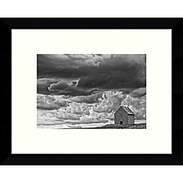 Amanti Art All Alone (Barn) Framed Photographic Art Print