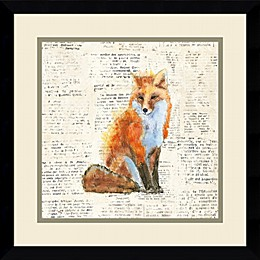 Amanti Into the Woods IV 17-Inch Square Framed Wall Art
