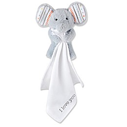 Wendy Bellissimo™ Sawyer Elephant Lovey in White/Grey