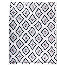 Wendy Bellissimo™ Sawyer Geometric Plush Blanket