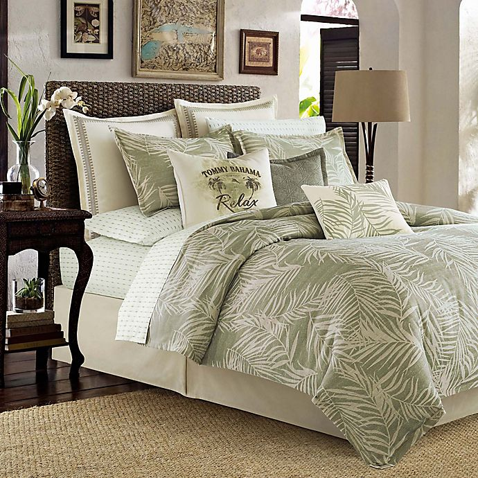 Alternate image 1 for Tommy Bahama® Palms Away King Comforter Set in Sage