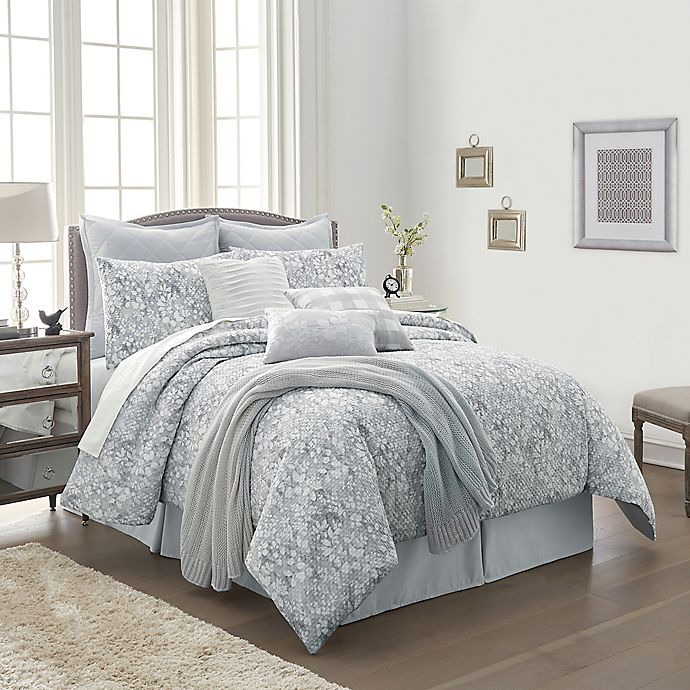 Alternate image 1 for Orchard Street 10-Piece Comforter Set in Grey