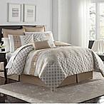 VCNY Home Adisha 8-Piece Full Comforter Set in Neutral