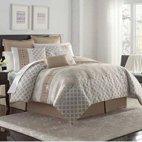 Buy Vcny Home Adisha 8 Piece King Comforter Set In Neutral