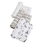 Little Unicorn Forest Friends Muslin Swaddle Blankets (Set of 3)