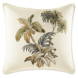 Tommy Bahama® Nador Palm Square Throw Pillow in Ivory