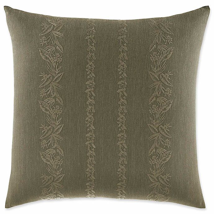 Alternate image 1 for Tommy Bahama® Nador Embroidered Square Throw Pillow in Sage