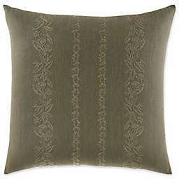 Tommy Bahama® Nador Embroidered Square Throw Pillow in Sage