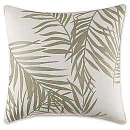 Tommy Bahama® Palms Away Palm Square Throw Pillow in Sage