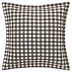 Eddie Bauer® Kingston European Pillow Sham in Charcoal