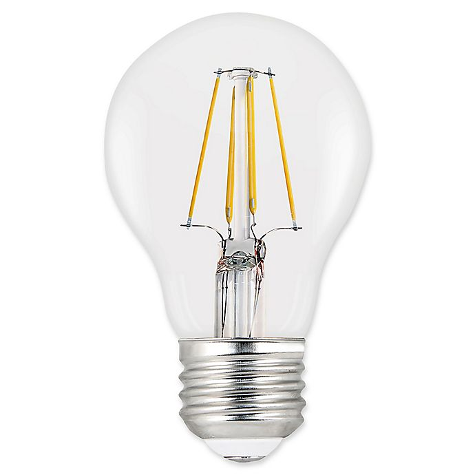 Alternate image 1 for Feit Electric 2-Pack Filament 40-Watt Equivalent A19 LED Light Bulbs