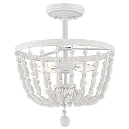 Filament Design 2-Light Semi Flush Light