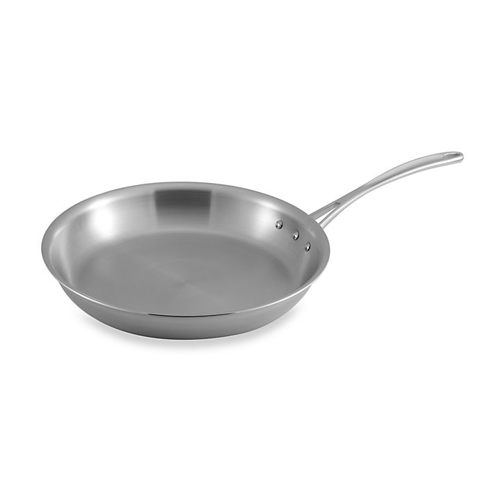 Alternate image 1 for Calphalon® Tri-Ply Stainless Steel 12-Inch Omelette Pan
