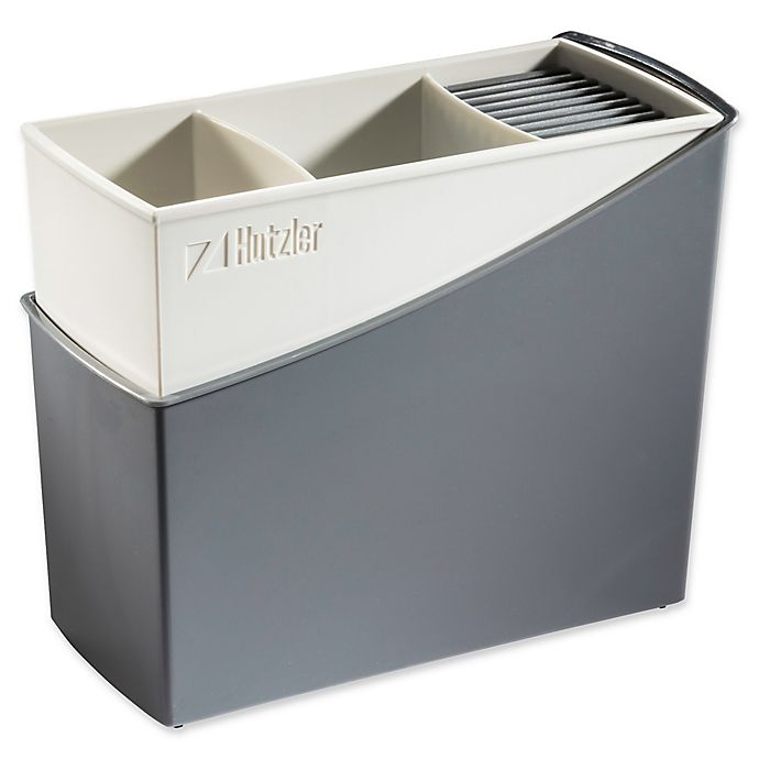 Alternate image 1 for Hutzler Cutlery Drainer in Grey