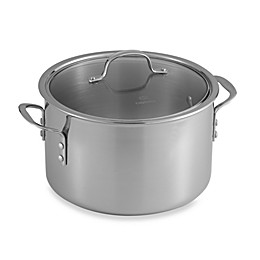 Calphalon® Tri-Ply Stainless Steel 8 qt. Stockpot with Lid