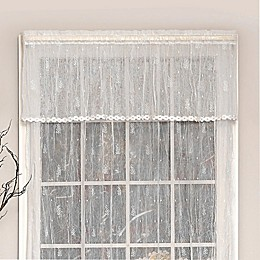 Heritage Lace® Pineapple Window Valance in White