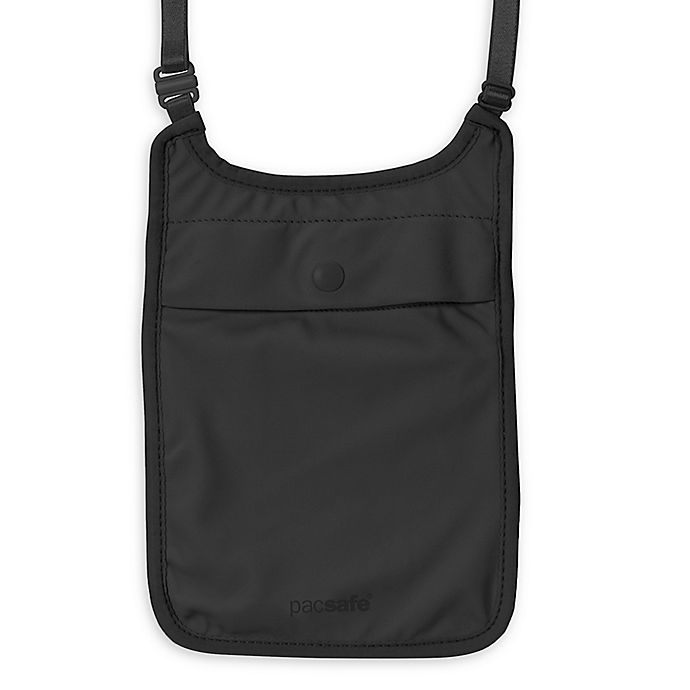 Alternate image 1 for Pacsafe Coversafe S75 Secret Neck Pouch in Black