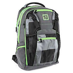 ful® Troubleshooter 18-Inch Laptop Backpack in Grey/Green