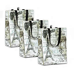 Vintage Shopping Bags (Set of 3)