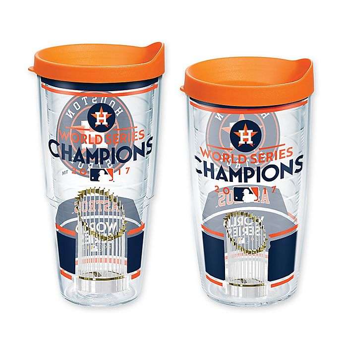 f147267a3d4 Tervis® MLB World Series Champion Houston Astros Wrap Tumbler with Lid