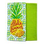 Summer Pineapple Kitchen Towels (Set of 2)