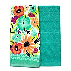 Summer Floral Kitchen Towels (Set of 2)