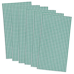 Design Imports Check Napkins (Set of 6)