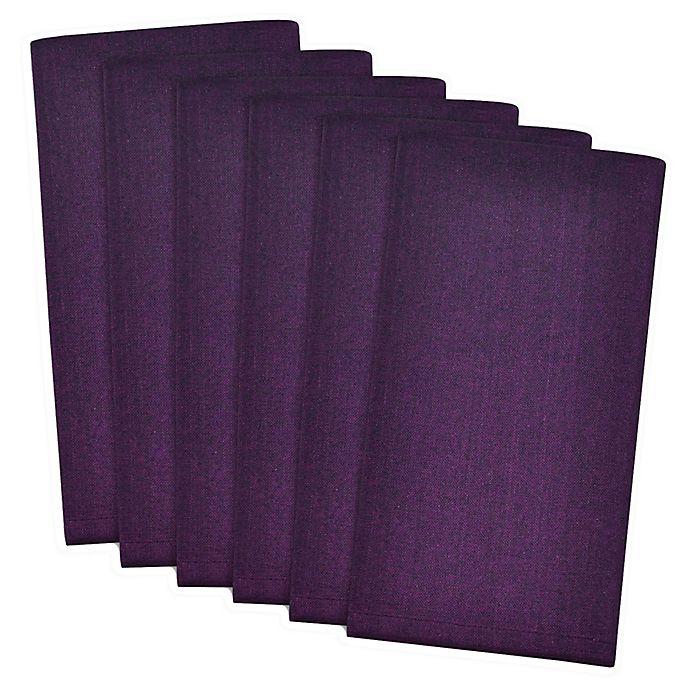 Alternate image 1 for Design Imports Basic Cotton Napkins (Set of 6)