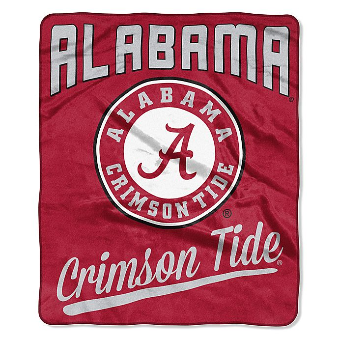 Alternate image 1 for University of Alabama Raschel Throw Blanket