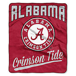 University of Alabama Raschel Throw Blanket