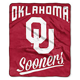 University of Oklahoma Raschel Throw Blanket