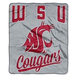 Washington State University Raschel Throw Blanket