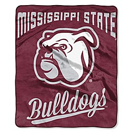 Mississippi State University Raschel Throw Blanket