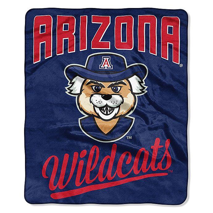 University Of Arizona Raschel Throw Blanket Bed Bath