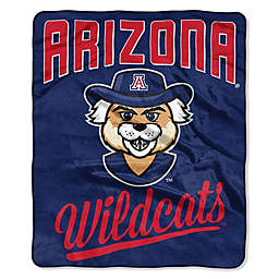 University of Arizona Raschel Throw Blanket