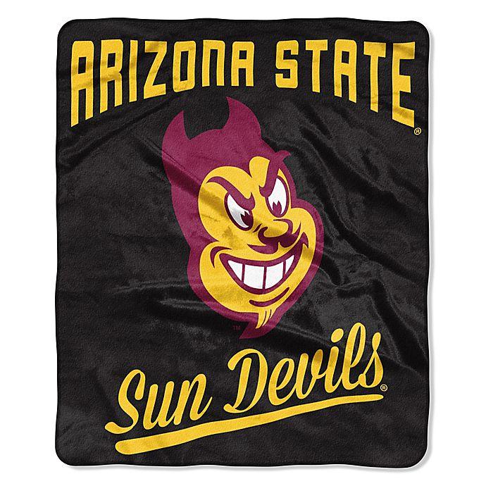 Arizona State University Raschel Throw Blanket Bed Bath