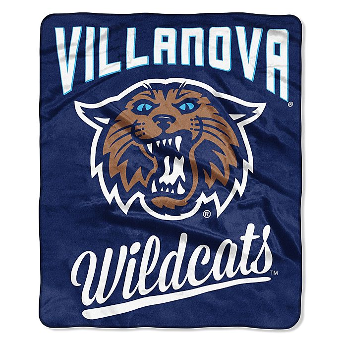Alternate image 1 for Villanova University Raschel Throw Blanket