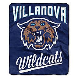 Villanova University Raschel Throw Blanket