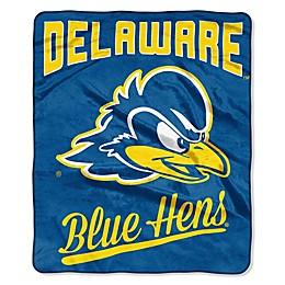 University of Delaware Raschel Throw Blanket