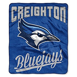 Creighton University Raschel Throw Blanket
